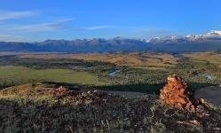Долина Чуи на рассвете