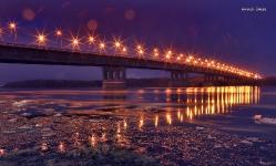 Ленинградский мост в Омске