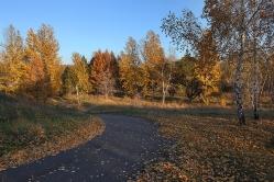 Парк Победы в Омске