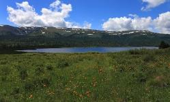 Улаганские озера. Талдукель