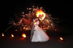 Свадебный фейерверк