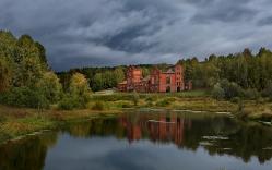Винокуренный завод в деревне Петропавловка
