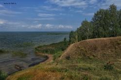 Озеро Ик, Крутинский район, Омская область