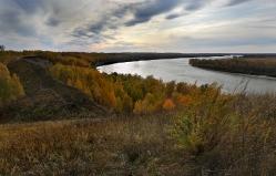 Иртыш в урочище Берег Драверта Омская область