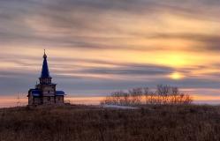 Скит Никольского мужского монастыря в  Большекулачье Омская область