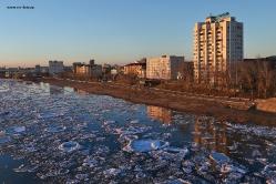 Ледоход в Омске