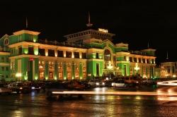 Железно-дорожный вокзал