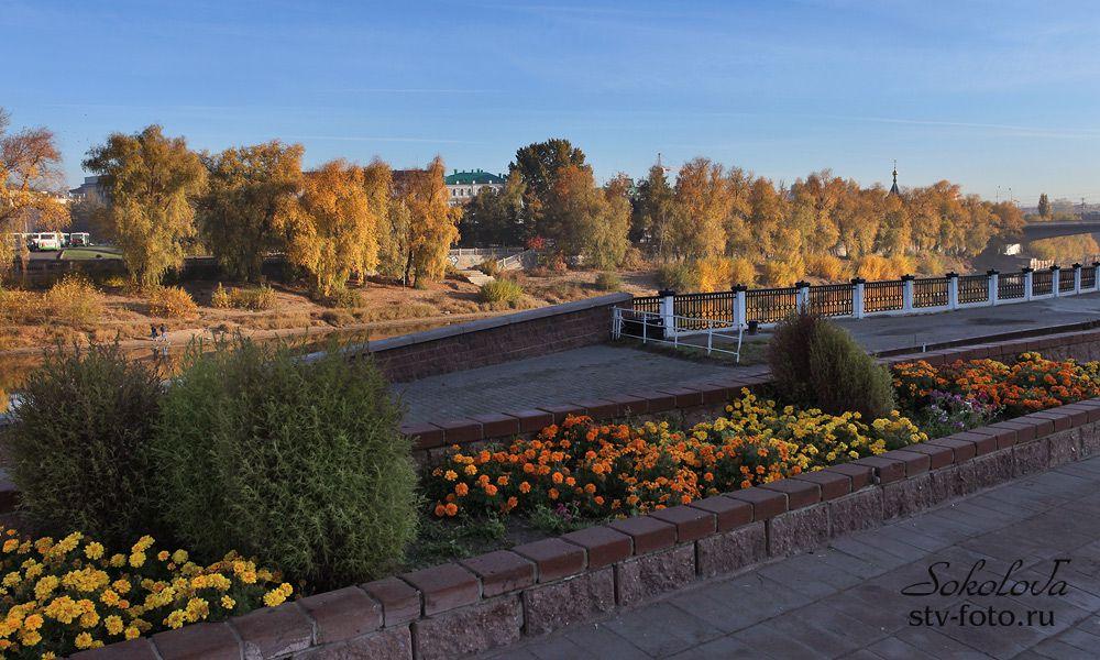 Осенняя красота Омска