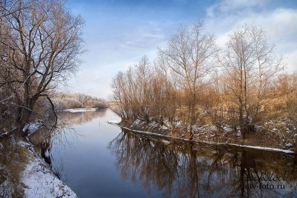 Первые наброски зимы