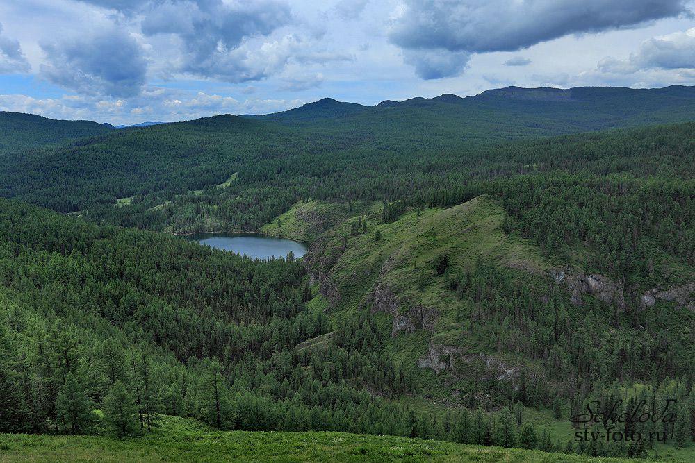 Озеро Уч-Кель