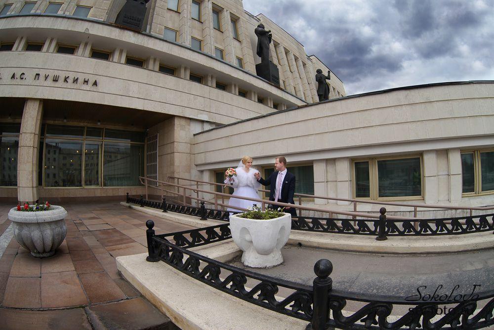 Свадебная прогулка по Омску