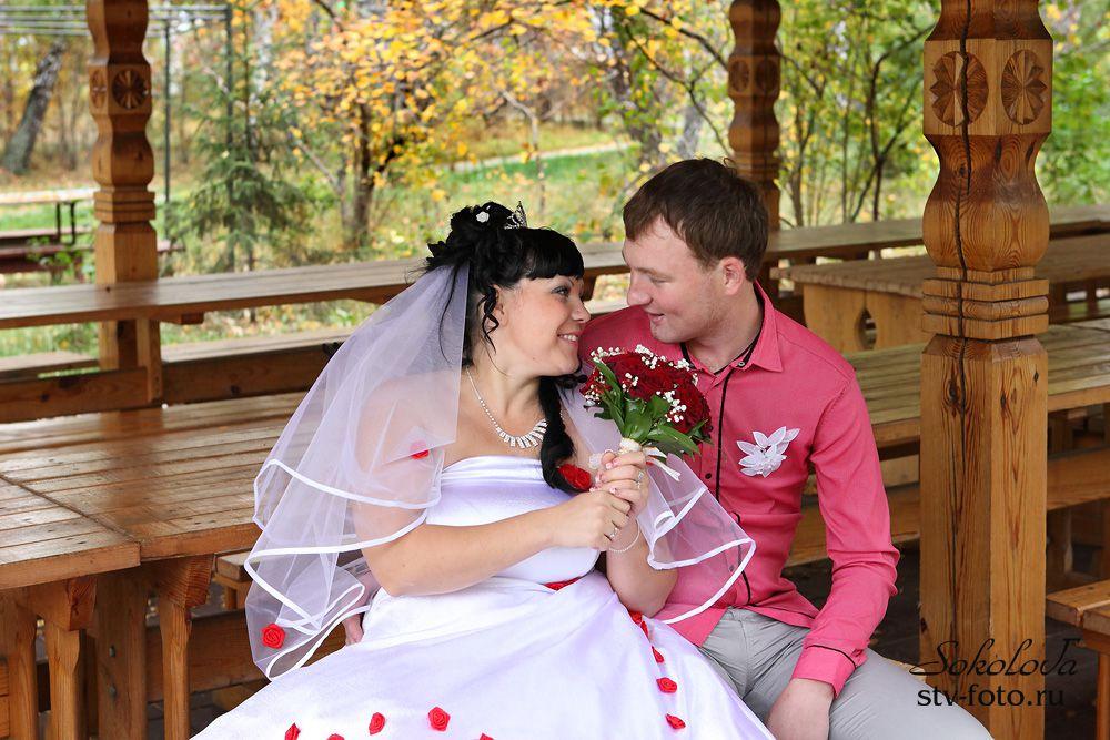 Осенняя свадьба в Омске